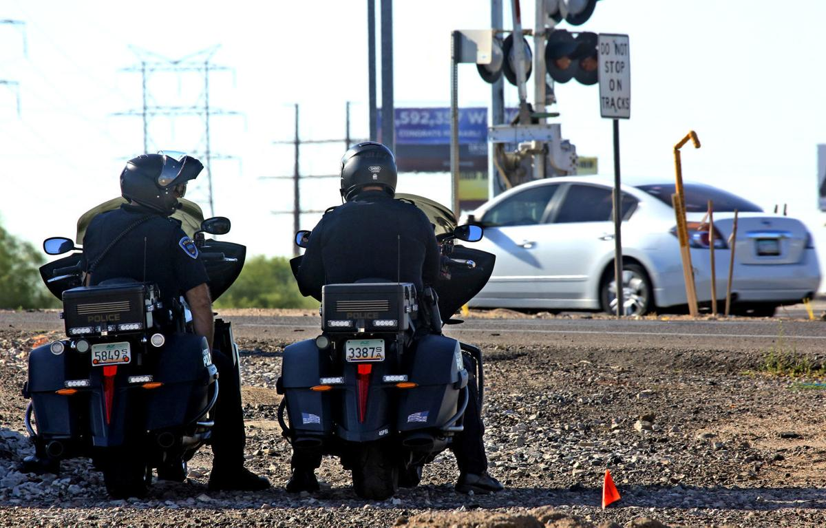 Grant-paid software upgrade to make Marana police traffic stops safer, more efficient