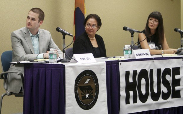 Dist. 9 Dem hopefuls decry cuts to public ed, aid to private schools ones