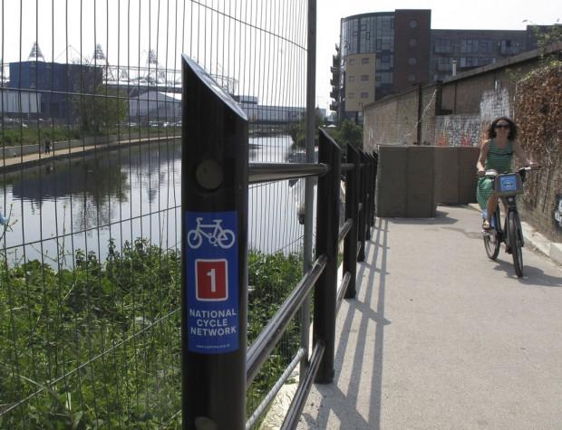In London for Olympics? Try 2-wheelin'