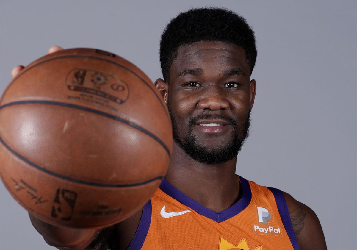Suns Media Day Basketball