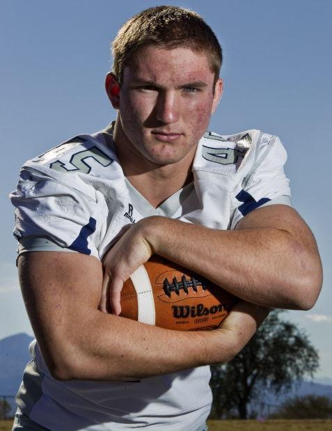2012 Scott Simmons, Ironwood Ridge (Defensive Player)