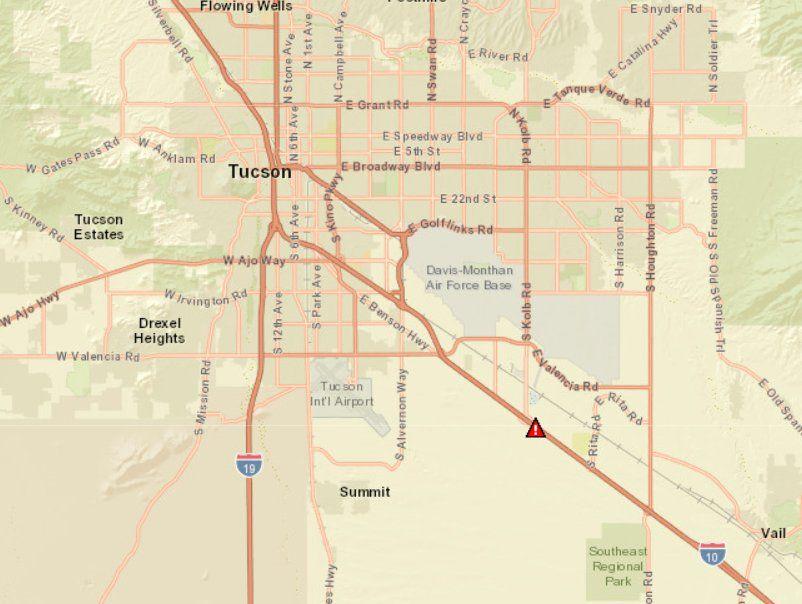 ADOT I-10 road closure
