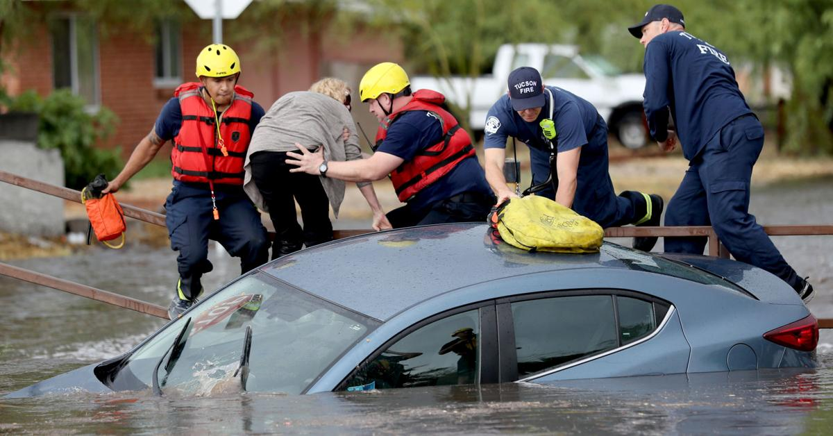 Storm leads to multiple water rescues in east, midtown