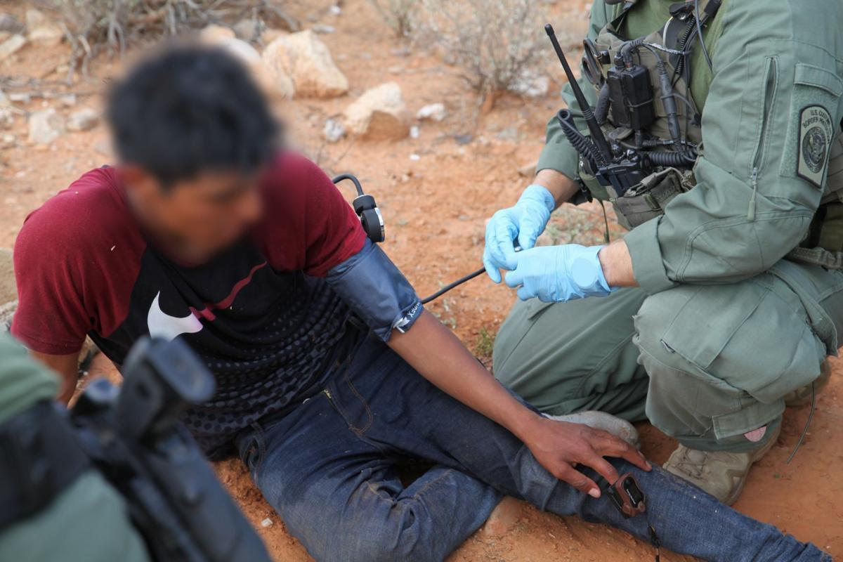 National Guard Border Patrol rescue