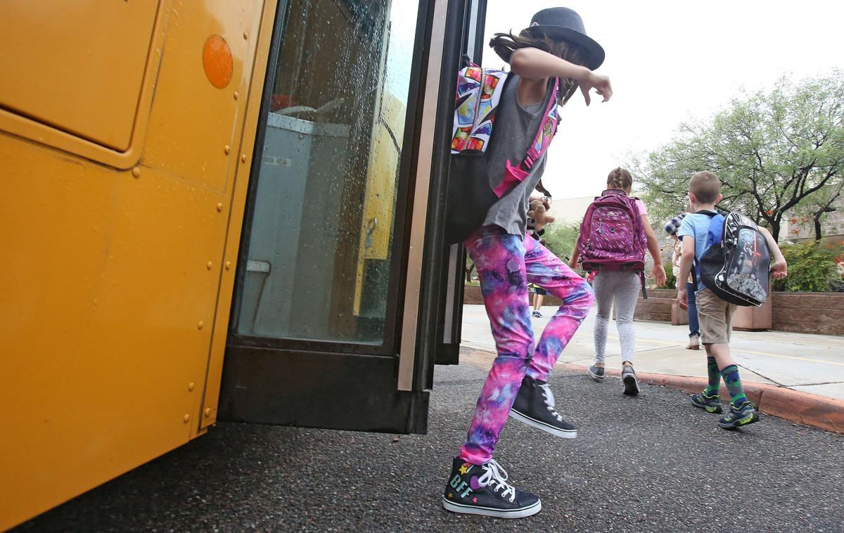 First day for Catalina Foothills schools