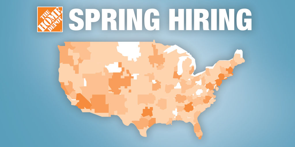 Home Depot Hiring 250 In Tucson For Spring Season