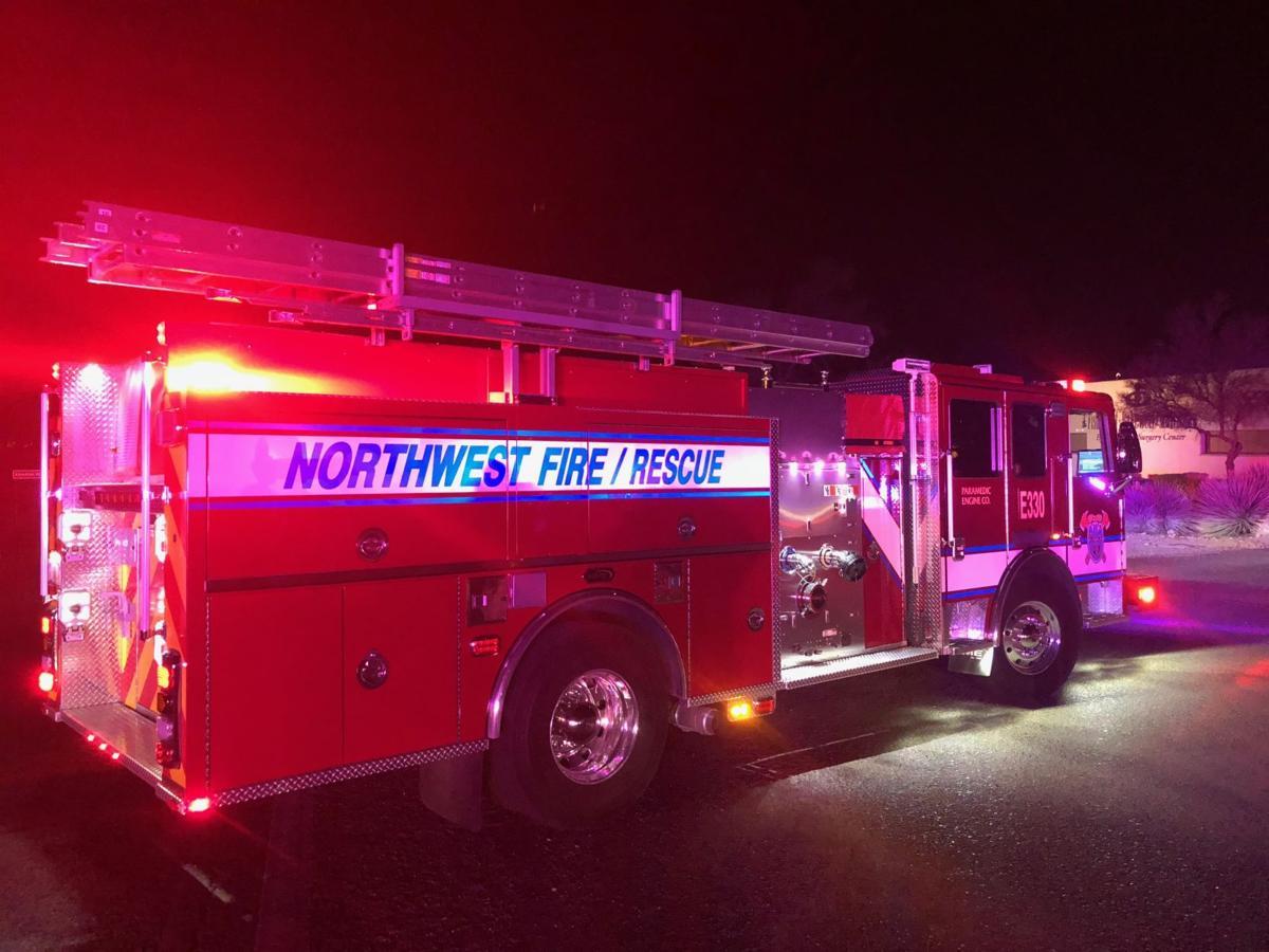 Arizona dps investigating fatal pedestrian collision from friday northwest fire rescue truck freerunsca Choice Image
