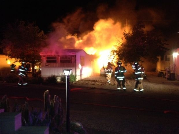 Disabled Tucson man dies in mobile home fire