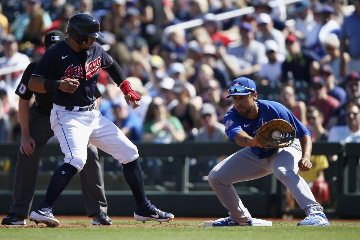 Cubs Indians Spring Baseball