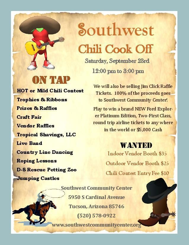 Southwest Chili Cook Off