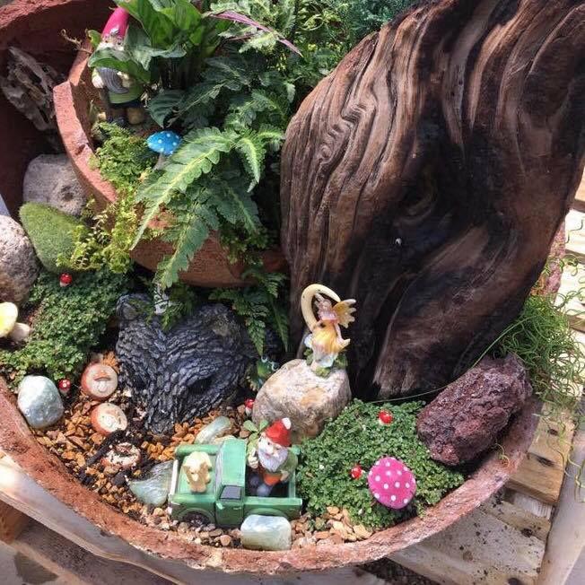 Fairy Garden Class Green things