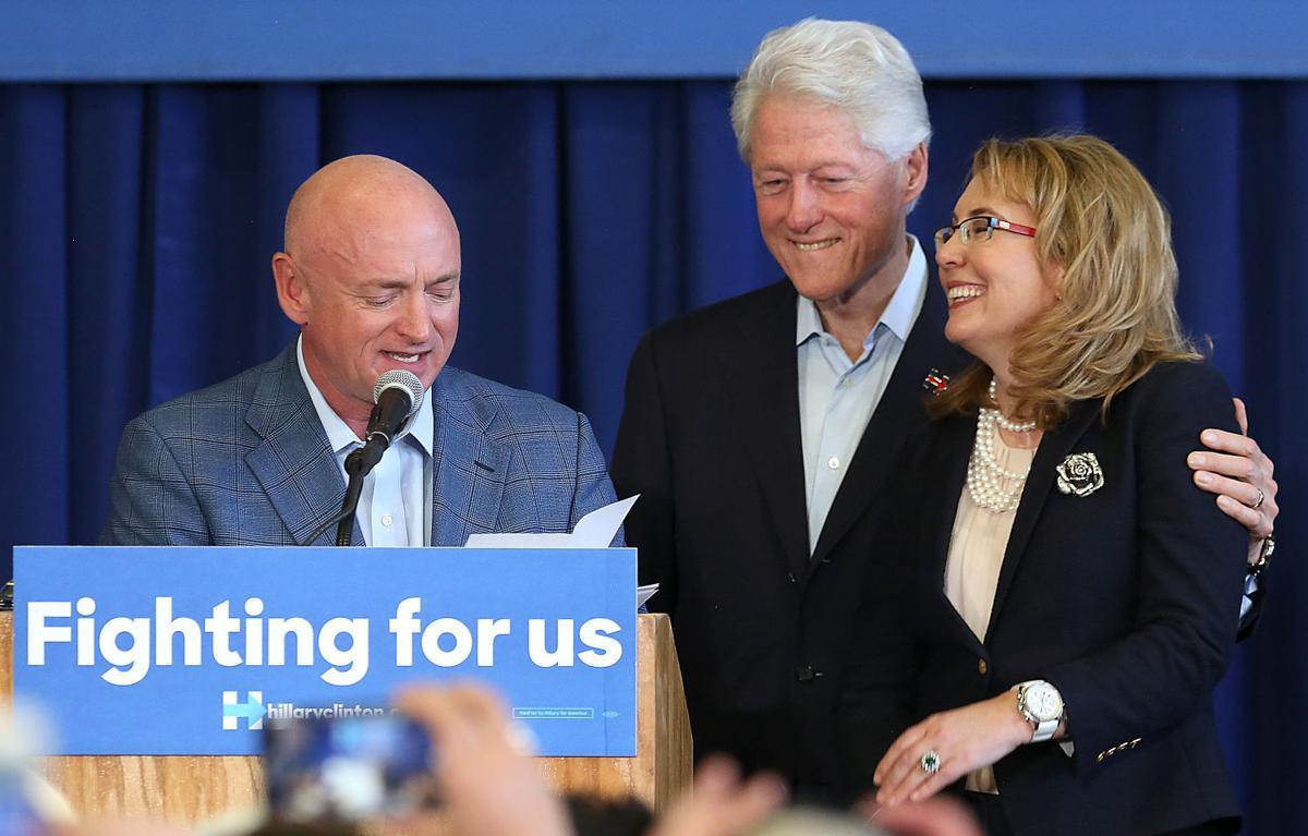 Bill Clinton in Tucson
