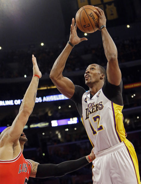 NBA: Lakers beat Bulls to move into No. 8 spot in West