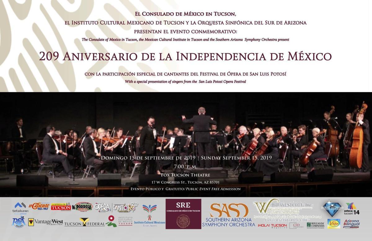 Concierto por la Independencia de México 2019
