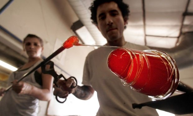 Spotlight on glass blowing and beer