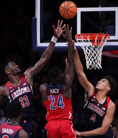 Arizona Wildcats Red-Blue scrimmage