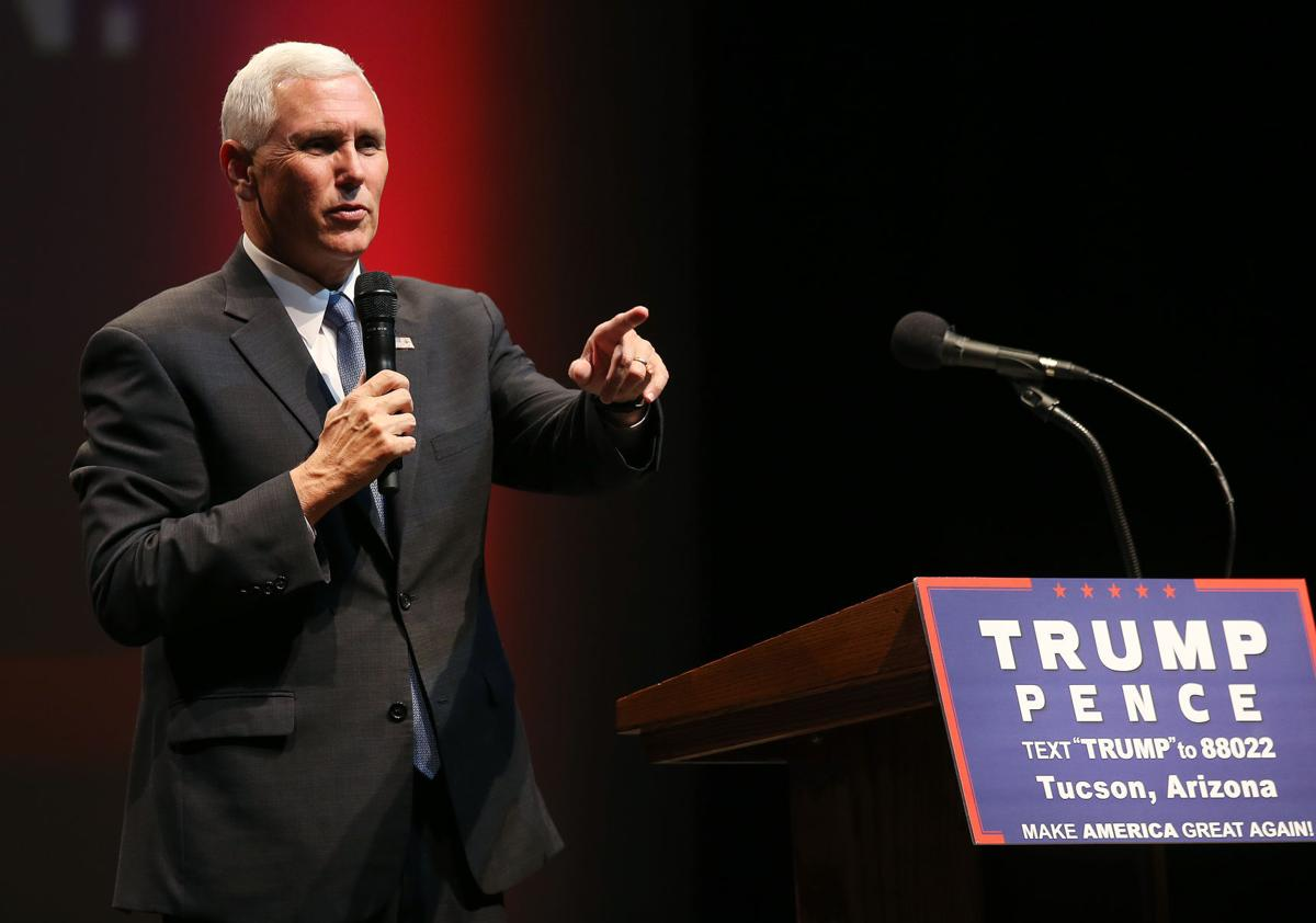 Mike Pence in Tucson