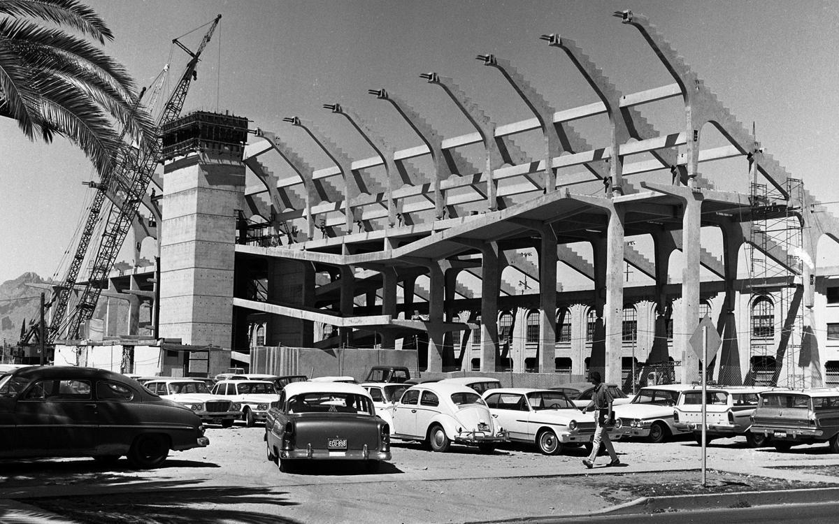 University of Arizona campus, 1965