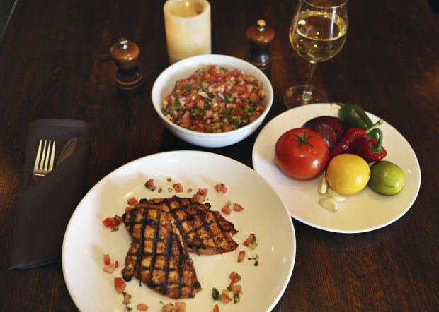 Dishing with the chef: Grill with an eye toward healthy