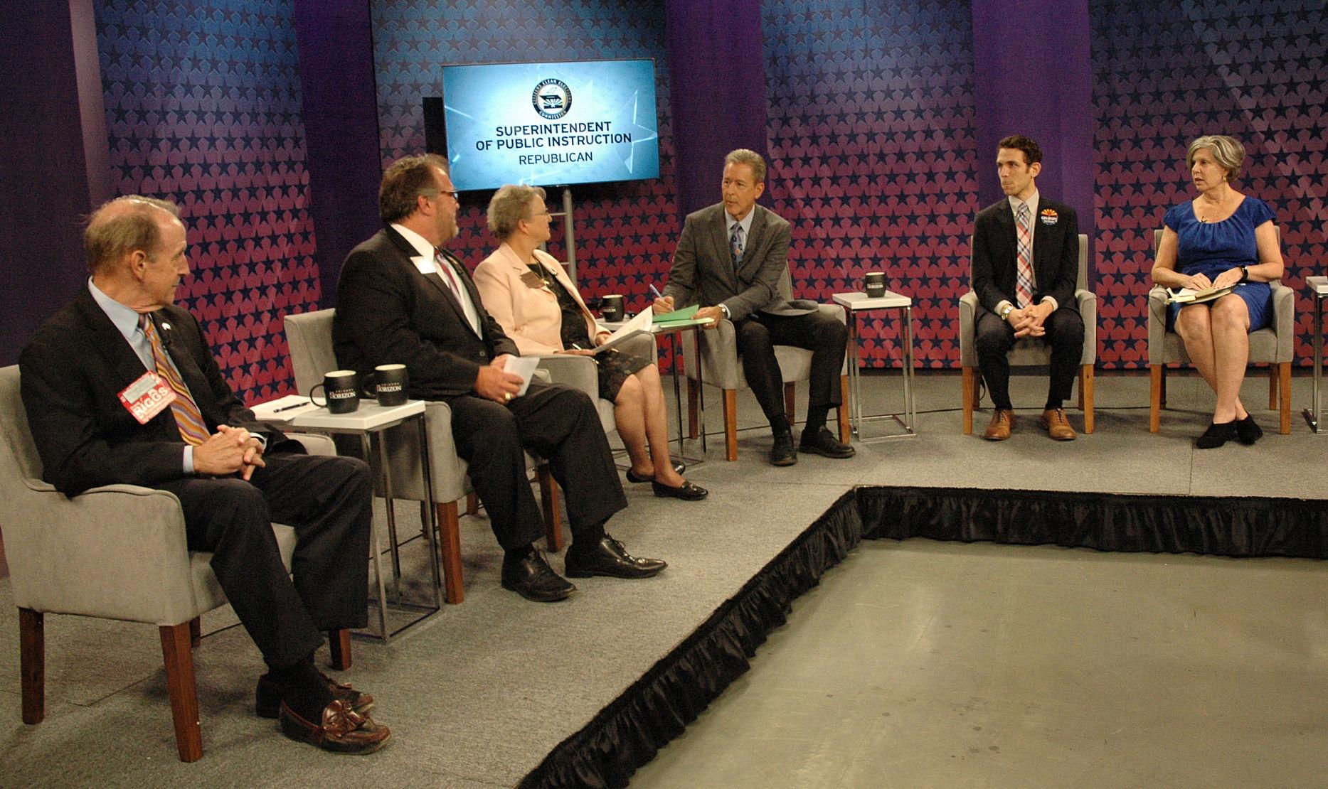 U0027Intelligent Designu0027 Focus Of Debate By GOP Candidates For State School  Chief