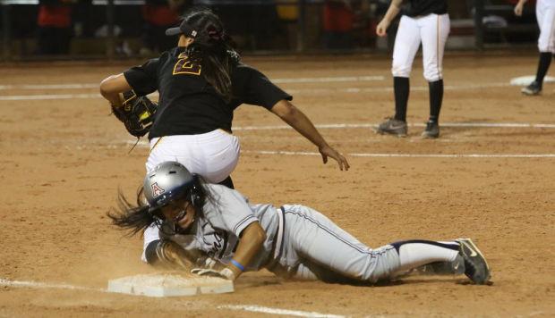 Softball: Arizona 6, Arizona State 4: Cats find their rhythm, emotion