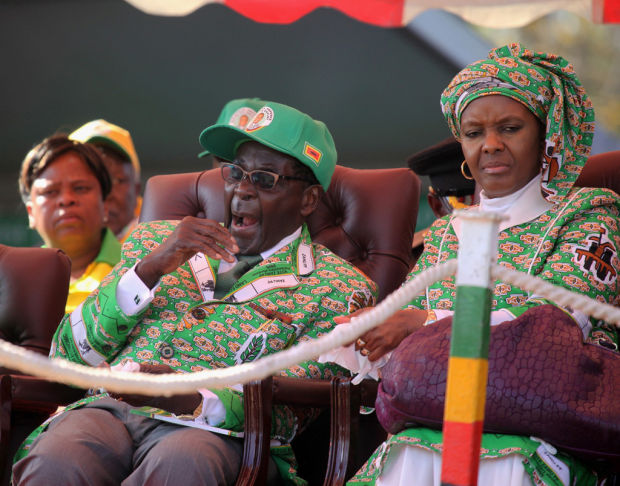 Zimbabwe's president vows hard fight in national election