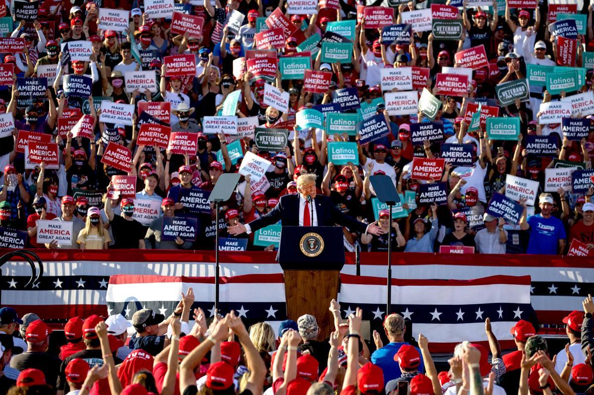 President Trump in Tucson