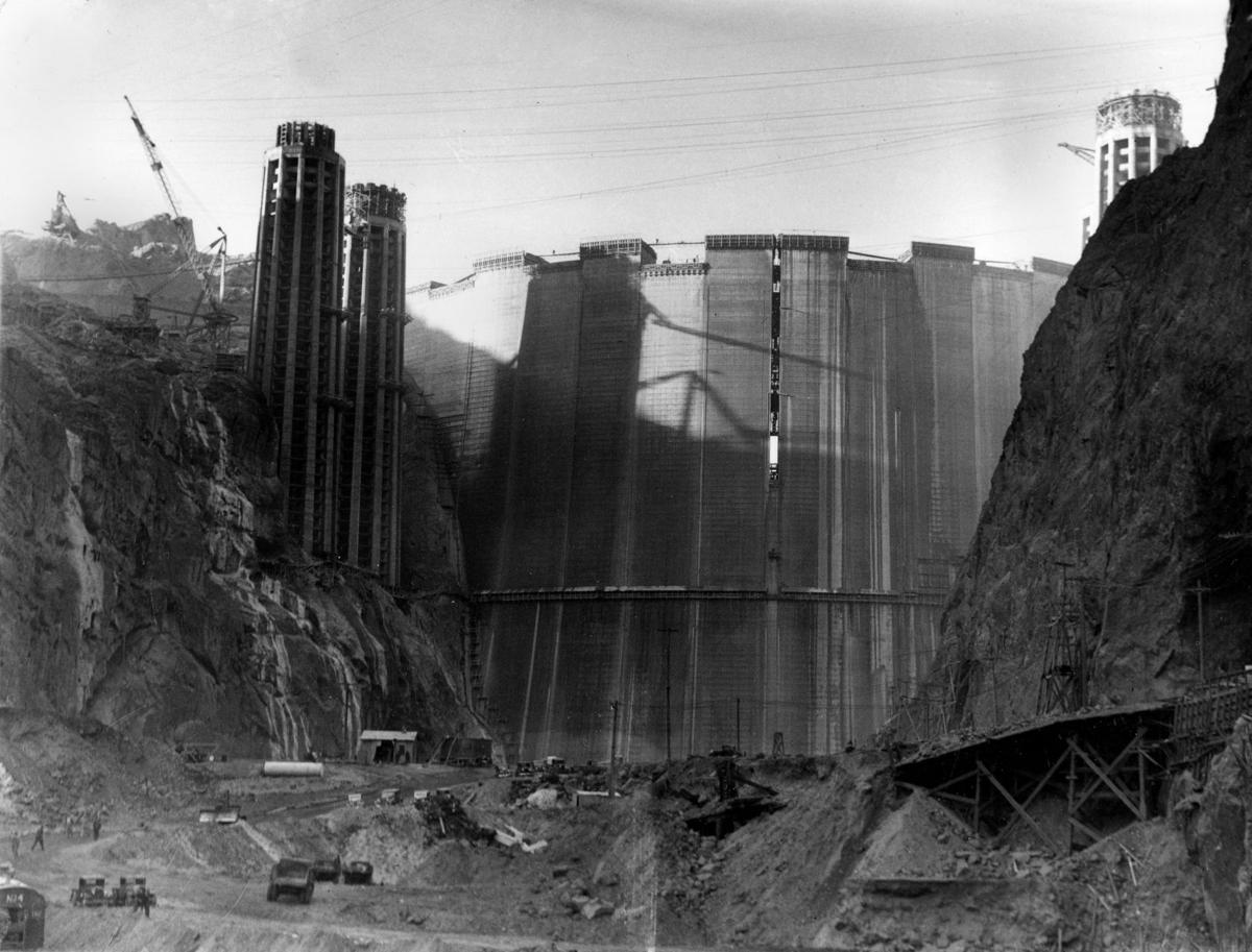 Photos: Hoover Dam construction in the 1930s | Arizona and Regional