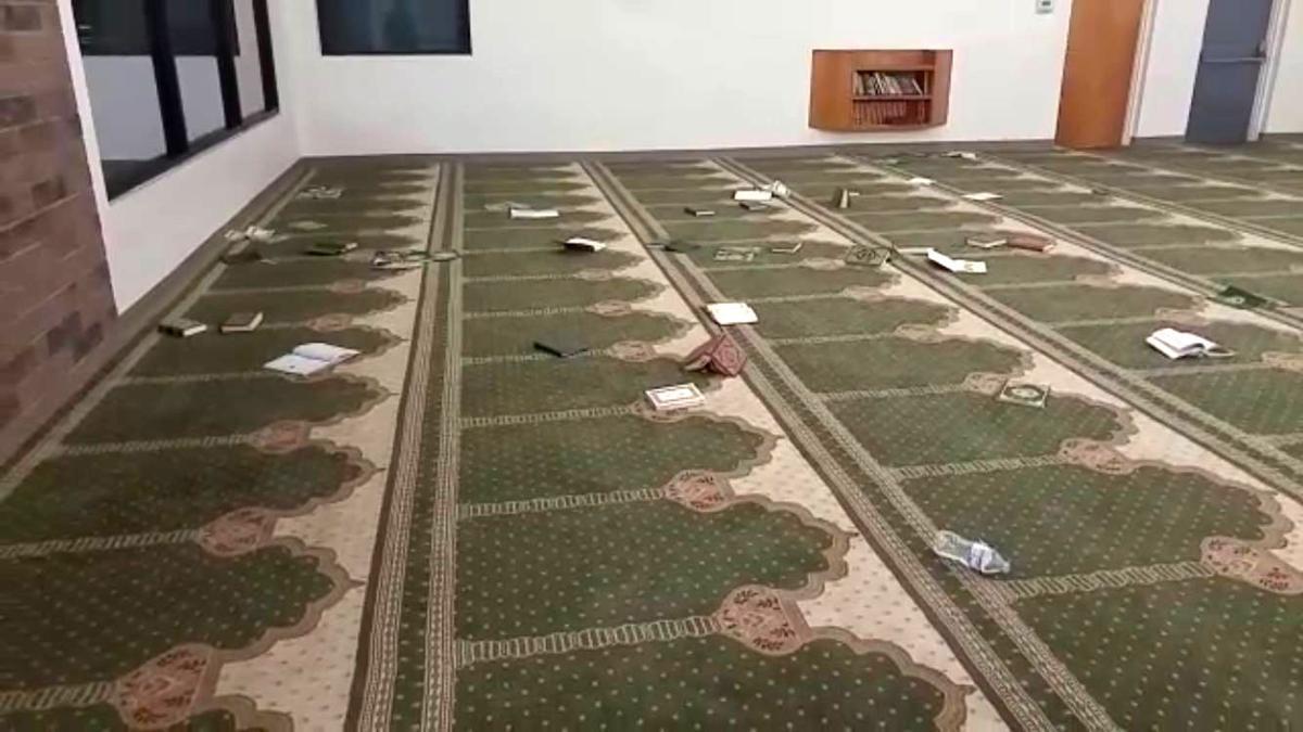 Islamic Center of Tucson vandalized