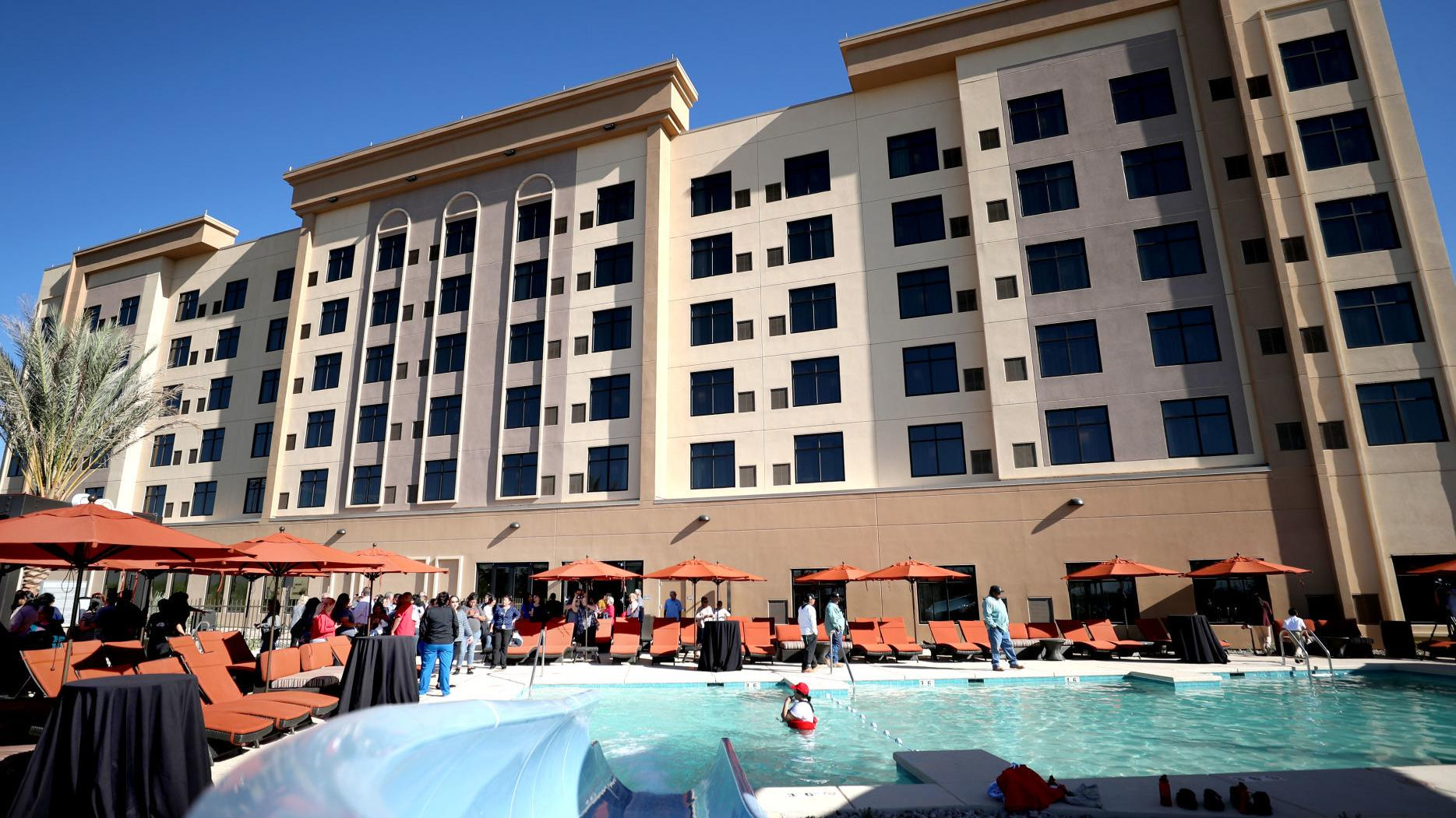 Casino Del Sol S New Hotel Is Now Open With A Water Slide Pool Bar And Arcade Business News Tucson Com