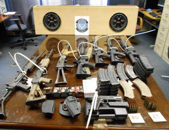 Jan. 9 gun seizure at Nogales port