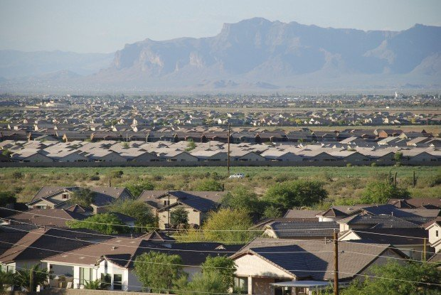 Pinal plight: lots of roofs, few jobs