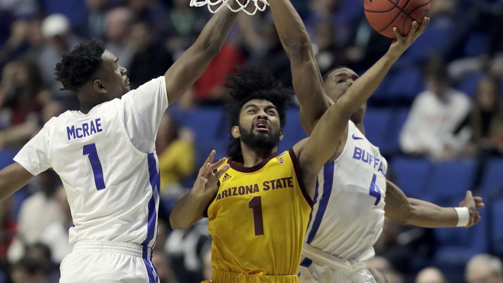 NCAA Tournament: Buffalo breezes past Arizona State; Oregon extends March run