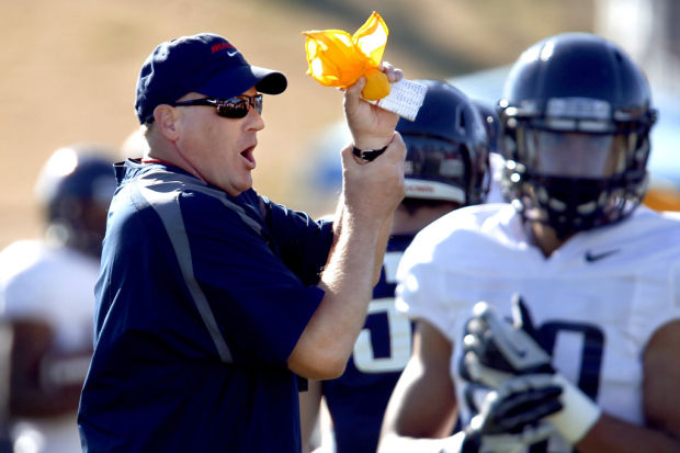 Arizona football: Arizona Wildcats football: Rodriguez hopes to remedy sloppy start in spring scrimmage