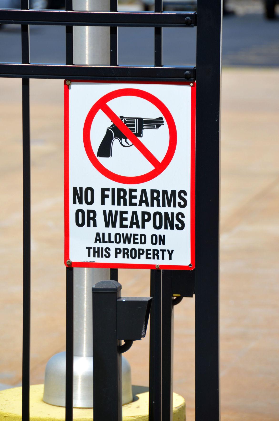 Gun-free zone