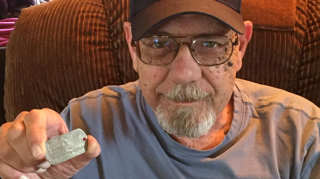 UA program reunites Vietnam veterans with long-lost dog tags
