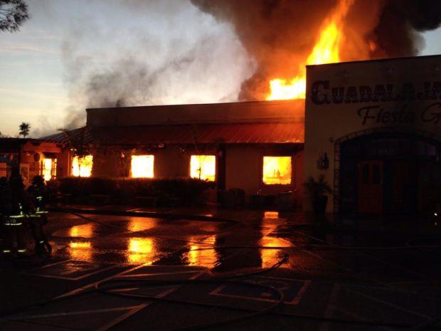 Fire at Guadalajara Grill