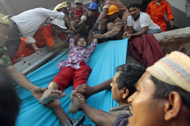 At least 145 killed in Bangladesh building collapse