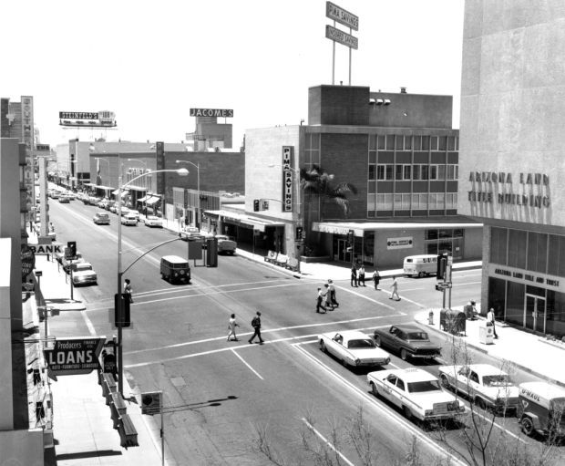 Downtown Tucson Then and Now