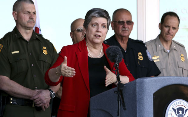 Napolitano to leave Homeland Security