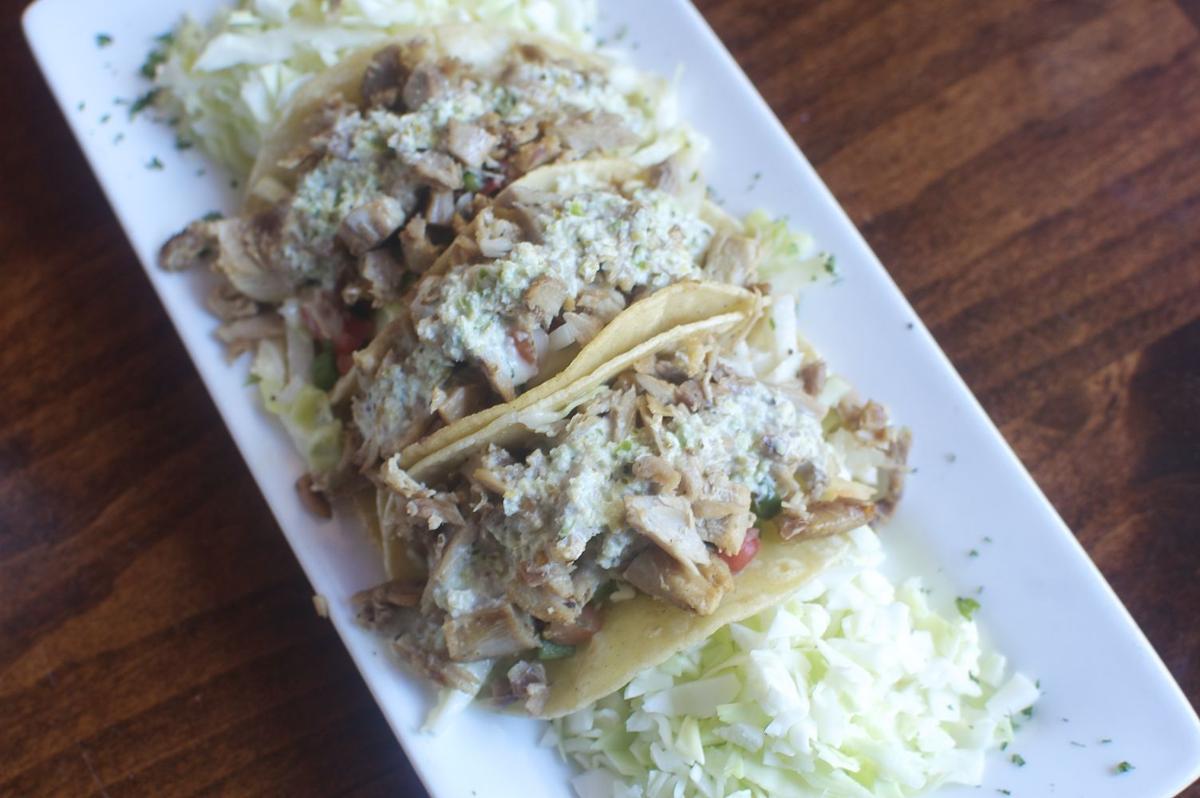 Duck tacos at Elliott's
