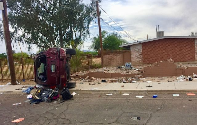 Tucson police ID driver killed in rollover crash Thursday afternoon