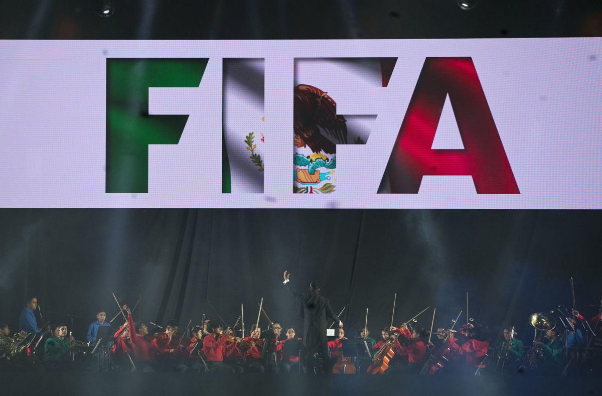 APTOPIX Mexico FIFA Congress
