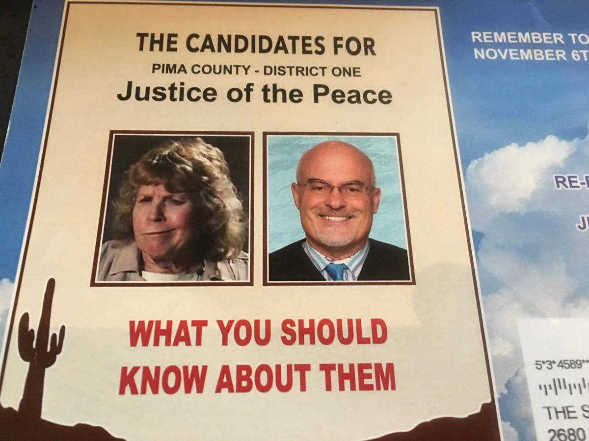 Political flier for Justice of the Peace