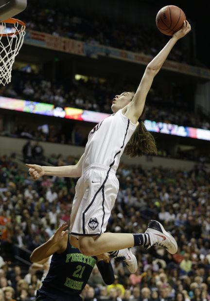 APTOPIX NCAA Championship Final Four Notre Dame UConn Basketbal