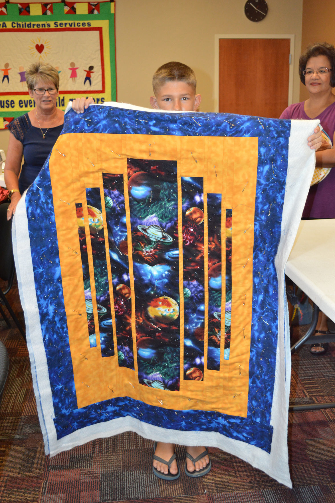 Aviva Divas enjoy camaraderie while sewing for others