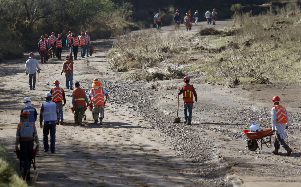 Bacanuchi River, Mexico, mine spill