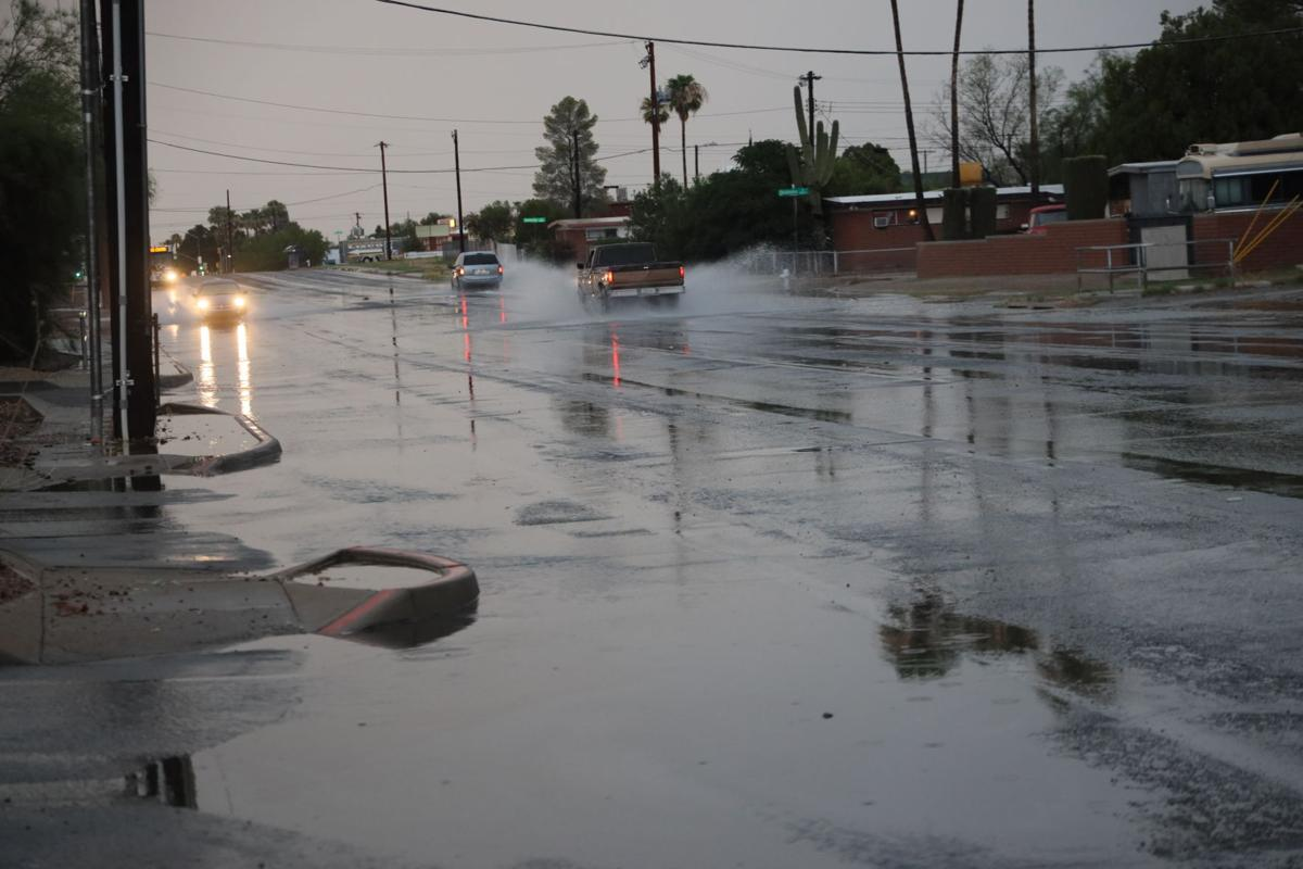 Downpour aftermath
