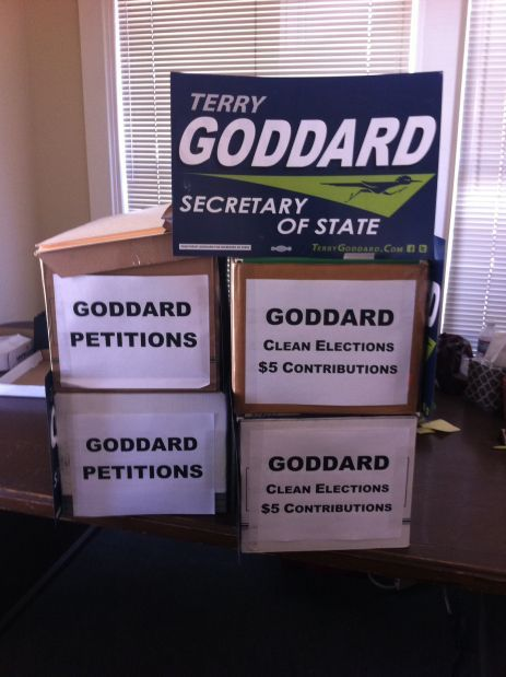 Goddard files paperwork for run for Secretary of State