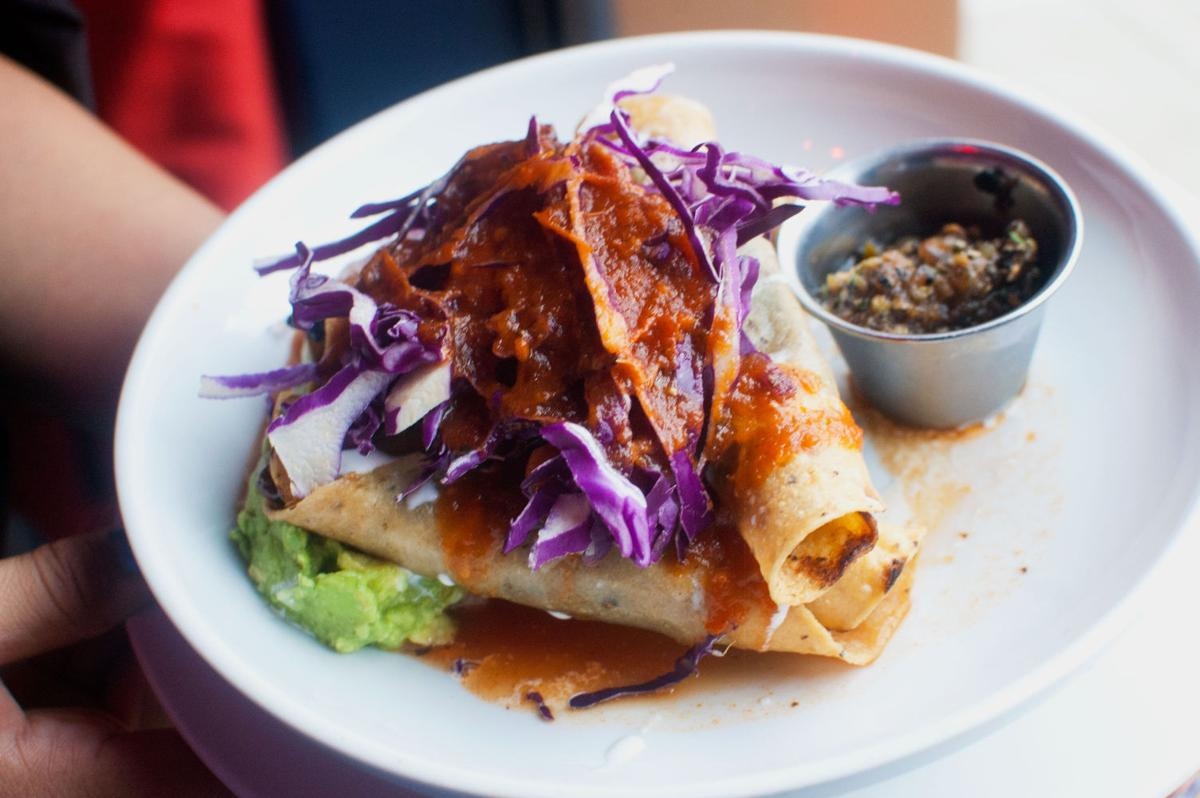 Cuitlacoche tacos at Elvira's